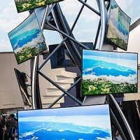Curved 4K TVs at CES 2