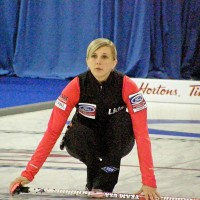 Nicole at the World Championships