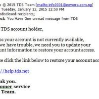 Phishing scam 1-13-15