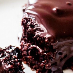 Ultimate Triple Chocolate Cake with Chocolate Ganache