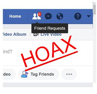 Clone Facebook account warning a hoax…this time image