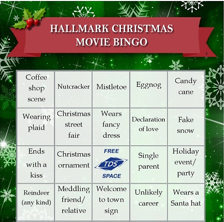 Image result for hallmark movie bingo 2019