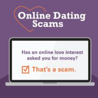 online dating scam feature