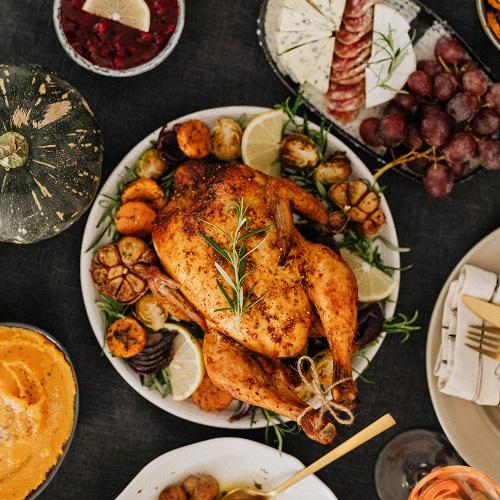 Helping make Thanksgiving brighter image